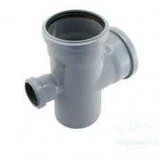 Крестовина ПП для внутренней канализации, 110x110x50-90°