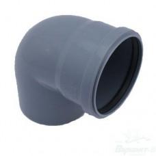 Отвод ПП для внутренней канализации, 110 мм 90°