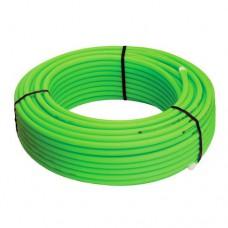 Труба из сшитого полиэтилена PE-RT 20x2,0 (100) зеленая