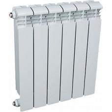 Радиатор алюминиевый 500x80, 6 секций