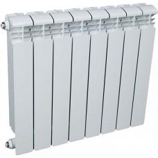 Радиатор алюминиевый 500x80, 8 секций
