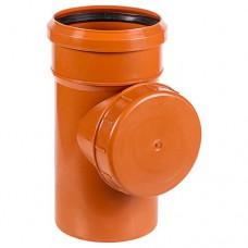 Ревизия ПВХ для внешней канализации, 110 мм