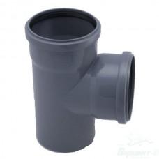 Тройник ПП для внутренней канализации, 110x110-90°