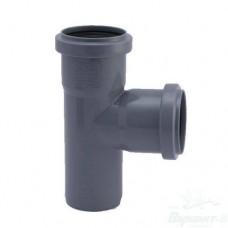 Тройник ПП для внутренней канализации, 50x50-90°