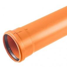 Труба НПВХ, 110x6060x3,2 мм для внутренней канализации