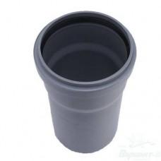 Труба ПП, 110x1000x2,7 мм для внутренней канализации